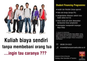 Student Financing Programme-Sampoerna School of Education