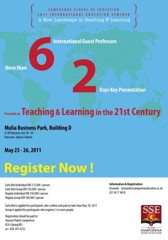 2011 International Education Seminar